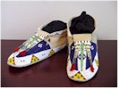 Beaded Top Moccasins