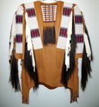 beaded warshirt