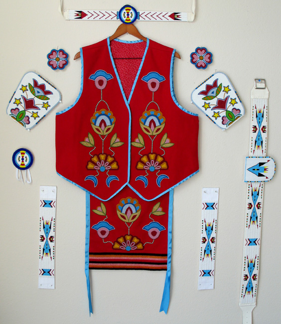 Native American Beadwork Patterns and Designs