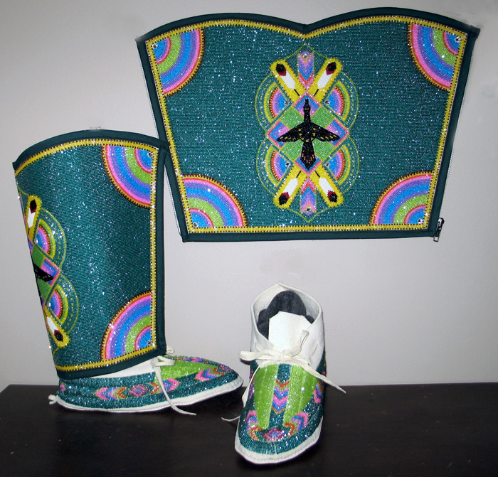 Ladies Leggins and Moccasins