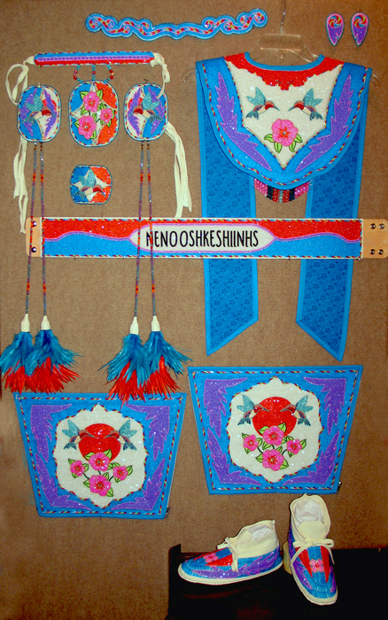 Native American Fancy Shawl Dresses http://kqdesigns.com/mroseoutfit.htm