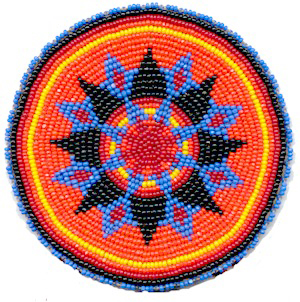 Native American Beaded Rosette Patterns http://kqdesigns.com/rosette10.htm