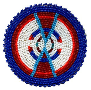 Native American Beaded Rosette Patterns http://kqdesigns.com/rosette11.htm
