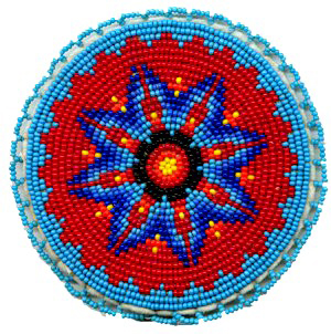 Native American Beaded Rosette Patterns http://kqdesigns.com/rosette6.htm
