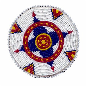 Native American Beaded Rosette Patterns http://kqdesigns.com/rosette7.htm