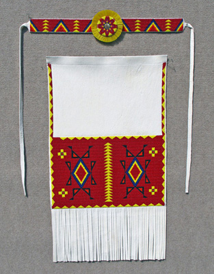 Men's Northern Traditional Apron and Headband